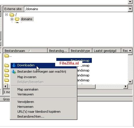 Verbinding Maken Filezilla Ftp
